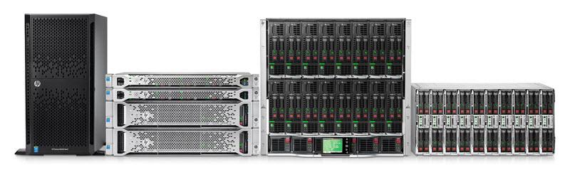 Custom HP Server